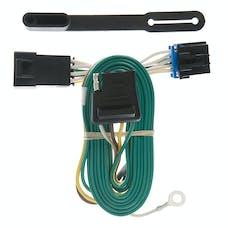 CURT 55347 Custom Wiring Harness (4-Way Flat Output)