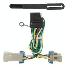 CURT 55359 Custom Wiring Harness (4-Way Flat Output)