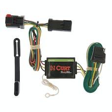 CURT 55376 Custom Wiring Harness (4-Way Flat Output)