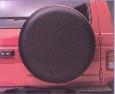 """Fia TC227 BLACK Tire Cover Black 27"""""""