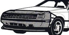 FIA VS301 Universal Fit Bug Screen Bra Style