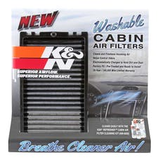 K&N 87-5036 Display; Cabin Air Filter