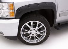 LUND RX111-2S Rivet Style Fender Flare Set - Front and Rear, Smooth, 4-Piece Set RX-RIVET STYLE 4PC SMOOTH