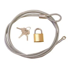 Outland Automotive 391330301 Car Cover Lock and Cable Kit