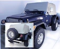 Outland Automotive 391331609 Cab Cover, Gray; 92-06 Jeep Wrangler YJ/TJ
