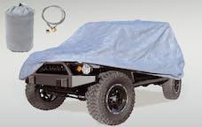 Outland Automotive 391332172 Full Car Cover Kit; 55-06 Jeep CJ/Wrangler YJ/TJ