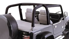 Outland Automotive 391361215 Full Roll Bar Cover Kit; 97-02 Jeep Wrangler TJ