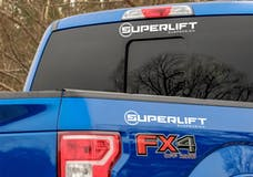 """Superlift 00100 3"""" x 15"""" White Vehicle Decal"""
