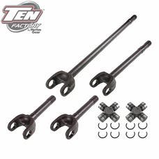 TEN Factory MG22162 Performance Complete Front Axle Kit