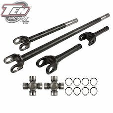 TEN Factory MG22175 Performance Complete Front Axle Kit