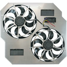 "Flex-A-Lite 264 Fan Electric 15"" dual shrouded puller w/ variable speed control"