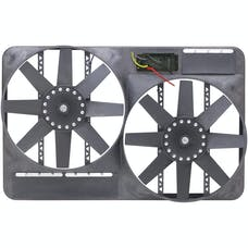 "Flex-A-Lite 292 Fan Electric 13 1/2"" dual shrouded puller w/variable speed control"