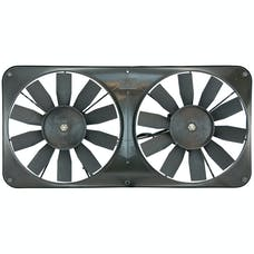 "Flex-A-Lite 330 Fan Electric 11"" dual shrouded pusher or puller w/ controls"