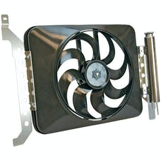 "Flex-A-Lite 678 Fan Electric 15"" single shrouded puller w/ controls, 05'- 09' Toyota Tacoma"