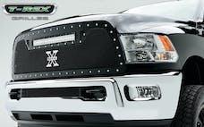 T-Rex Grilles 6314521 Torch Grille, Black, Mild Steel, 1 Pc, Replacement