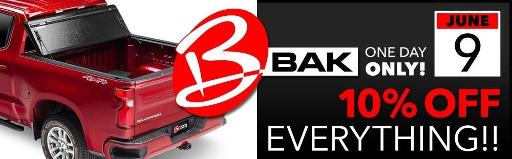 BAK 1 Day Event title image
