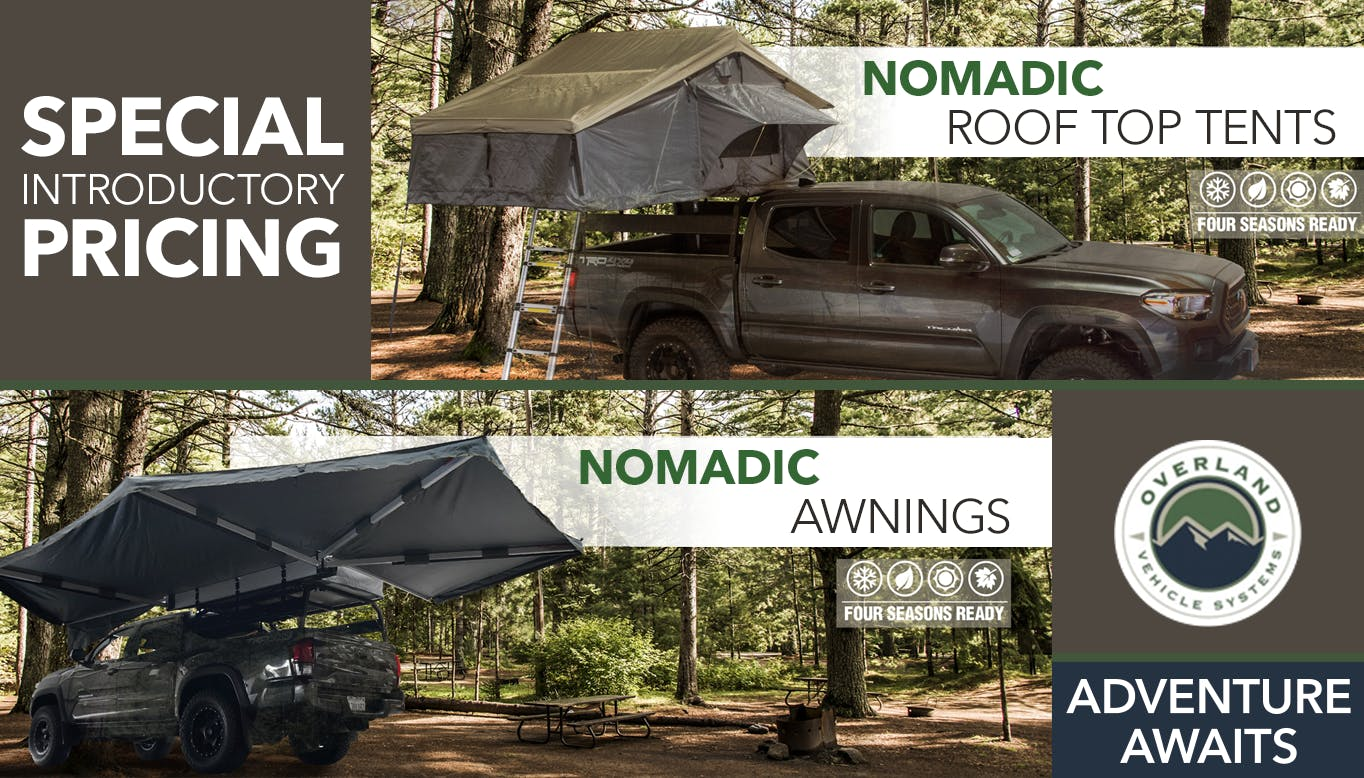 Overland Tent title image