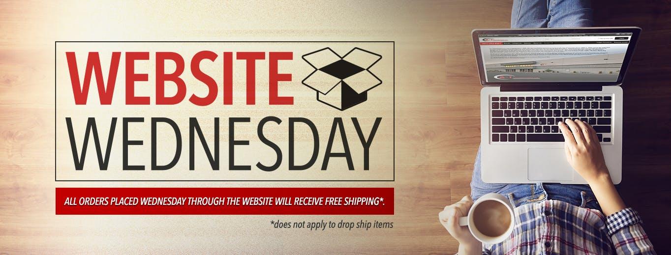 Website Wednesdays title image