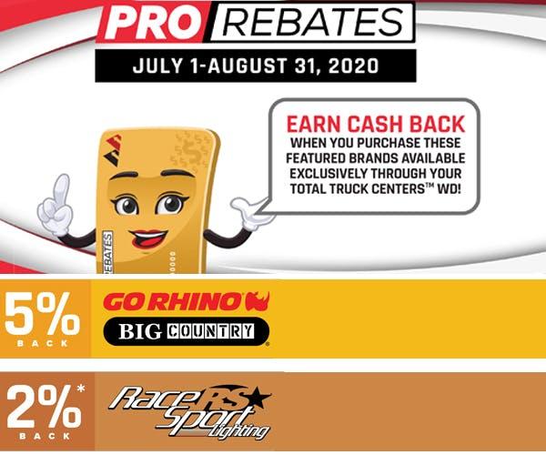 Pro Rebates title image