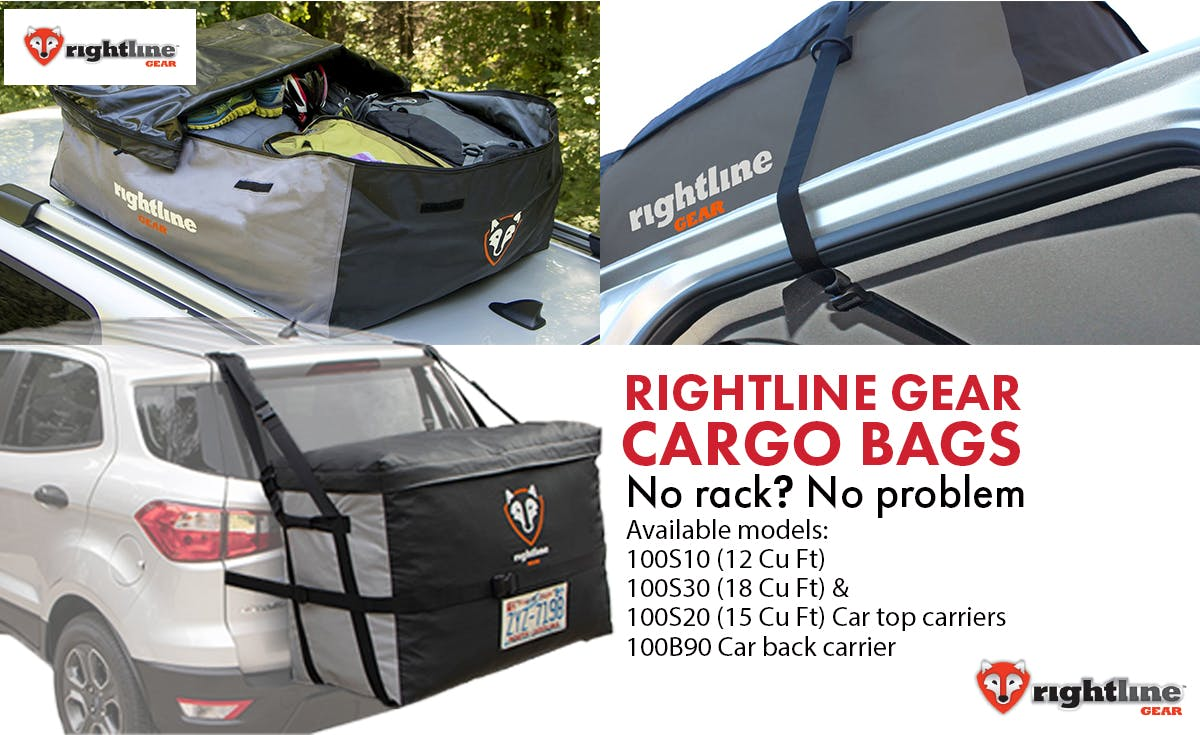 Right line gear cargo bags title image