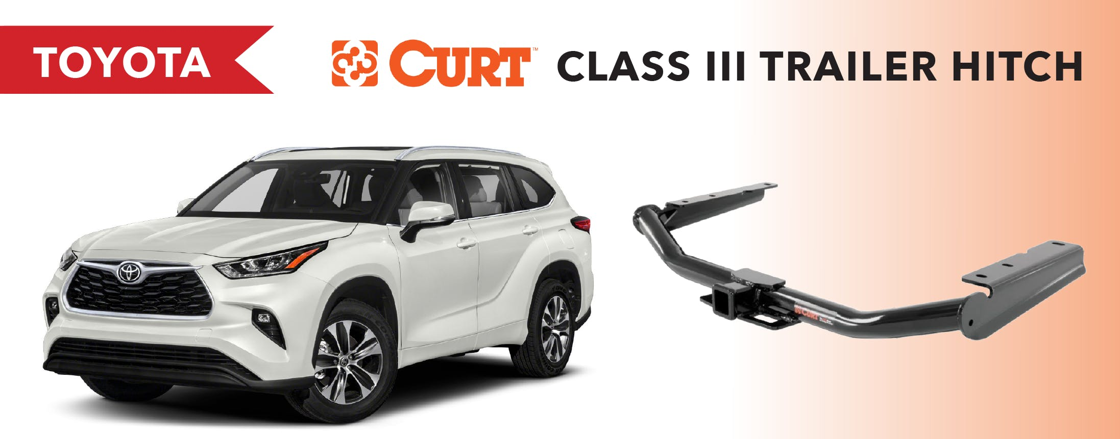 TOYOTA - class 3 trailer hitch title image