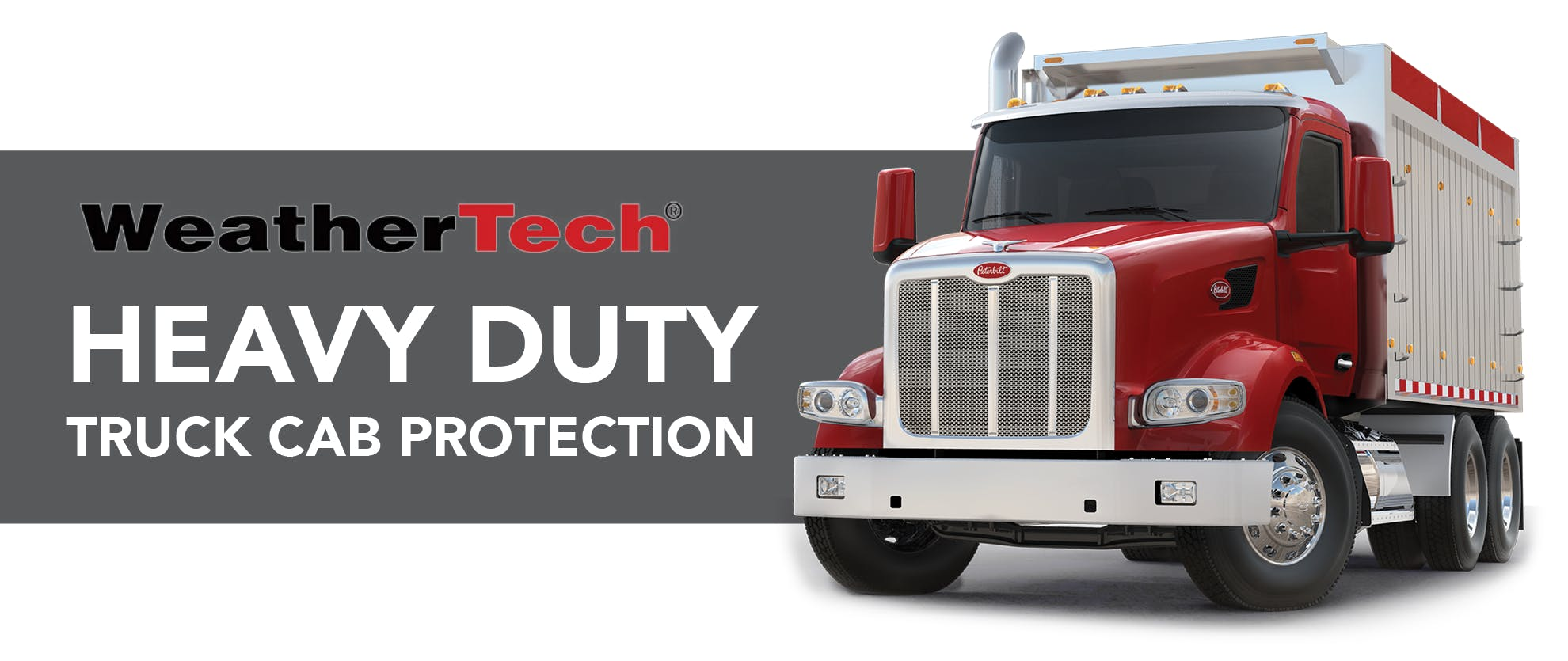 Heavy Duty Weather Tech NOW IN STOCK! title image